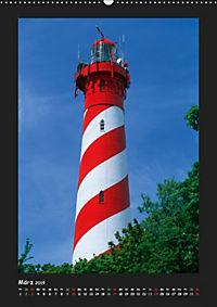 Leuchttürme - Wahrzeichen der Seefahrt (Wandkalender 2019 DIN A2 hoch) - Produktdetailbild 3