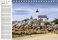 Leuchttürme - Wegweiser an der bretonischen Küste (Tischkalender 2019 DIN A5 quer) - Produktdetailbild 12