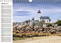 Leuchttürme - Wegweiser an der bretonischen Küste (Wandkalender 2019 DIN A4 quer) - Produktdetailbild 1
