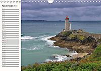 Leuchttürme - Wegweiser an der bretonischen Küste (Wandkalender 2019 DIN A4 quer) - Produktdetailbild 11