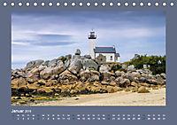 Leuchttürme - Wegweiser an der bretonischen Küste (Tischkalender 2019 DIN A5 quer) - Produktdetailbild 1
