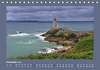 Leuchttürme - Wegweiser an der bretonischen Küste (Tischkalender 2019 DIN A5 quer) - Produktdetailbild 11