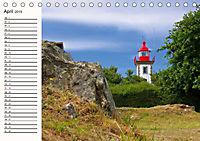 Leuchttürme - Wegweiser an der bretonischen Küste (Tischkalender 2019 DIN A5 quer) - Produktdetailbild 4