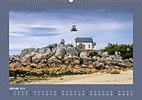 Leuchttürme - Wegweiser an der bretonischen Küste (Wandkalender 2019 DIN A2 quer) - Produktdetailbild 1