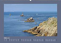 Leuchttürme - Wegweiser an der bretonischen Küste (Wandkalender 2019 DIN A2 quer) - Produktdetailbild 3