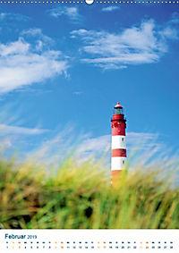 Leuchtturm: Lichtblick an der Küste (Wandkalender 2019 DIN A2 hoch) - Produktdetailbild 2