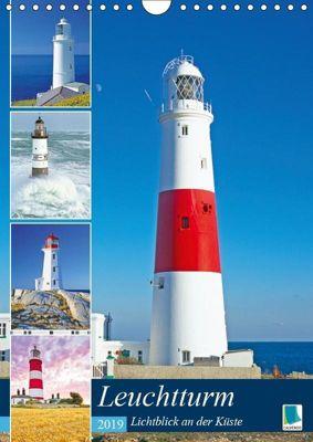 Leuchtturm: Lichtblick an der Küste (Wandkalender 2019 DIN A4 hoch), CALVENDO