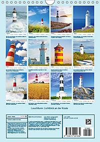 Leuchtturm: Lichtblick an der Küste (Wandkalender 2019 DIN A4 hoch) - Produktdetailbild 1