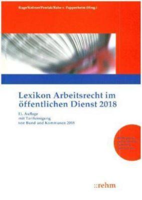 Lexikon Arbeitsrecht im öffentlichen Dienst 2018