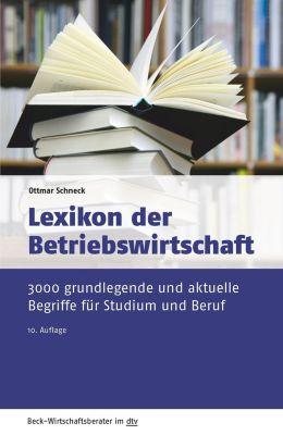 Lexikon der Betriebswirtschaft, Ottmar Schneck