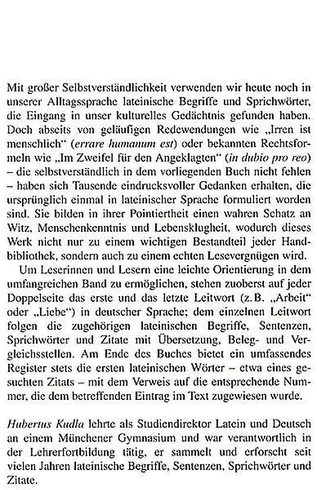 Lexikon Der Lateinischen Zitate Buch Versandkostenfrei Bei Weltbildat