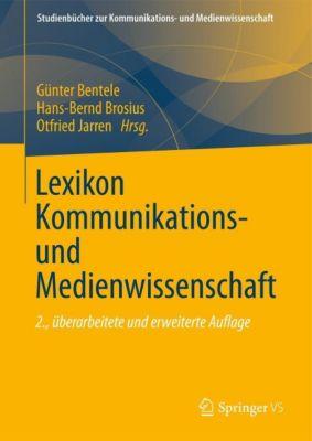 Lexikon Kommunikations- und Medienwissenschaft