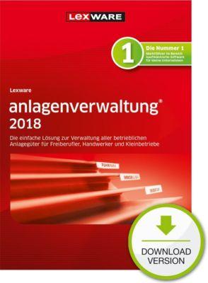 Lexware anlagenverwaltung 2018 (1Y)