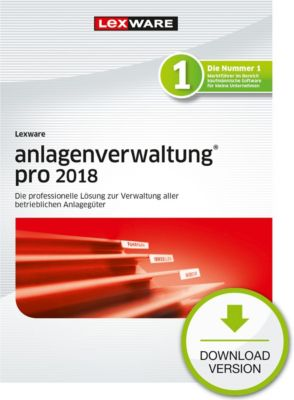 Lexware anlagenverwaltung pro 2018 (Abo)