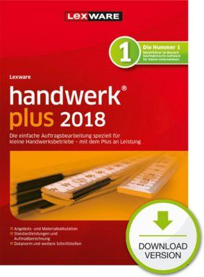 Lexware handwerk plus 2018 (1Y)