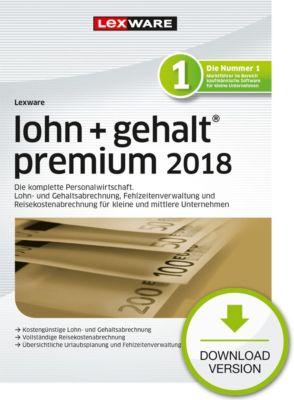 Lexware lohn+gehalt premium 2018 (Abo)