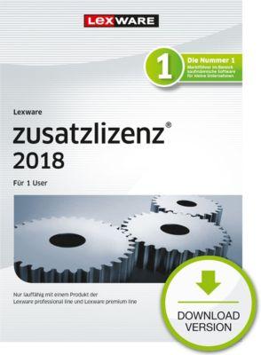 Lexware Zusatzlizenz 2018 (1U-1Y)