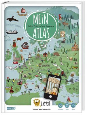 LeYo!: Mein Atlas, Volker Präkelt, Yayo Kawamura