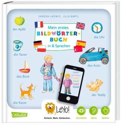 LeYo!: Mein erstes Bildwörterbuch in 6 Sprachen, Sandra Ladwig