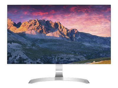 LG 27MP89HM-S 68,58cm 27Zoll TFT LCD AH-IPS LED 16:9 1.920x1.080 1.000:1 5ms analog 2xHDMI D-SUB 2x5W VESA Front schwarz