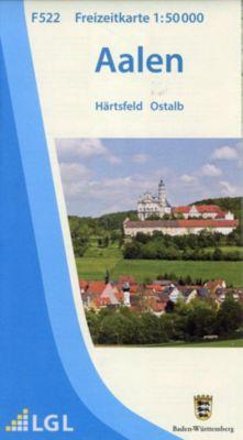 LGL BW 50 000 Freizeit Aalen. Härtsfeld. Heidenheimer Alb