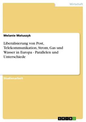Liberalisierung von Post, Telekommunikation, Strom, Gas und Wasser in Europa - Parallelen und Unterschiede, Melanie Matuszyk