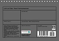 Licht und Glas - Neue Fotoimpressionen (Tischkalender 2019 DIN A5 quer) - Produktdetailbild 13