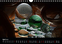 Licht und Glas - Neue Fotoimpressionen (Wandkalender 2019 DIN A4 quer) - Produktdetailbild 4