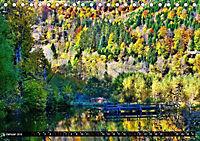 Licht und Schatten - Herbst im Südschwarzwald (Tischkalender 2019 DIN A5 quer) - Produktdetailbild 1