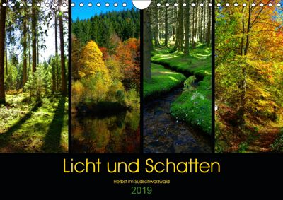 Licht und Schatten - Herbst im Südschwarzwald (Wandkalender 2019 DIN A4 quer), Lost Plastron Pictures