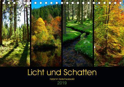 Licht und Schatten - Herbst im Südschwarzwald (Tischkalender 2019 DIN A5 quer), Lost Plastron Pictures