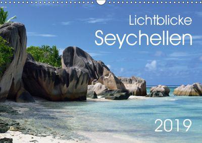 Lichtblicke - Seychellen (Wandkalender 2019 DIN A3 quer), Uwe Bade