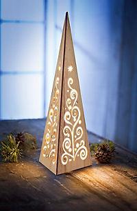 """Lichterpyramide """"Glamour"""", 45 cm - Produktdetailbild 1"""