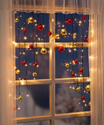 Lichtervorhang Christmas