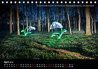 Lichtkunst - Weltreise Markante Bäume (Tischkalender 2019 DIN A5 quer) - Produktdetailbild 4