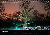 Lichtkunst - Weltreise Markante Bäume (Tischkalender 2019 DIN A5 quer) - Produktdetailbild 1
