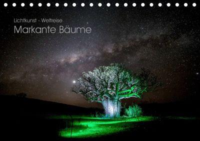 Lichtkunst - Weltreise Markante Bäume (Tischkalender 2019 DIN A5 quer), Gunnar Heilmann