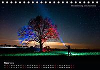 Lichtkunst - Weltreise Markante Bäume (Tischkalender 2019 DIN A5 quer) - Produktdetailbild 3