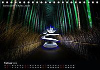Lichtkunst - Weltreise Markante Bäume (Tischkalender 2019 DIN A5 quer) - Produktdetailbild 2