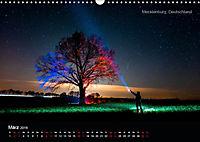 Lichtkunst - Weltreise Markante Bäume (Wandkalender 2019 DIN A3 quer) - Produktdetailbild 3