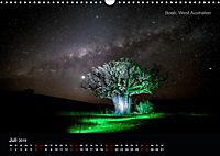 Lichtkunst - Weltreise Markante Bäume (Wandkalender 2019 DIN A3 quer) - Produktdetailbild 7