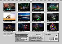 Lichtkunst - Weltreise Markante Bäume (Wandkalender 2019 DIN A3 quer) - Produktdetailbild 13
