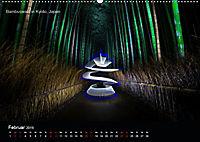 Lichtkunst - Weltreise Markante Bäume (Wandkalender 2019 DIN A2 quer) - Produktdetailbild 2