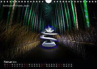 Lichtkunst - Weltreise Markante Bäume (Wandkalender 2019 DIN A4 quer) - Produktdetailbild 2