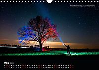 Lichtkunst - Weltreise Markante Bäume (Wandkalender 2019 DIN A4 quer) - Produktdetailbild 3
