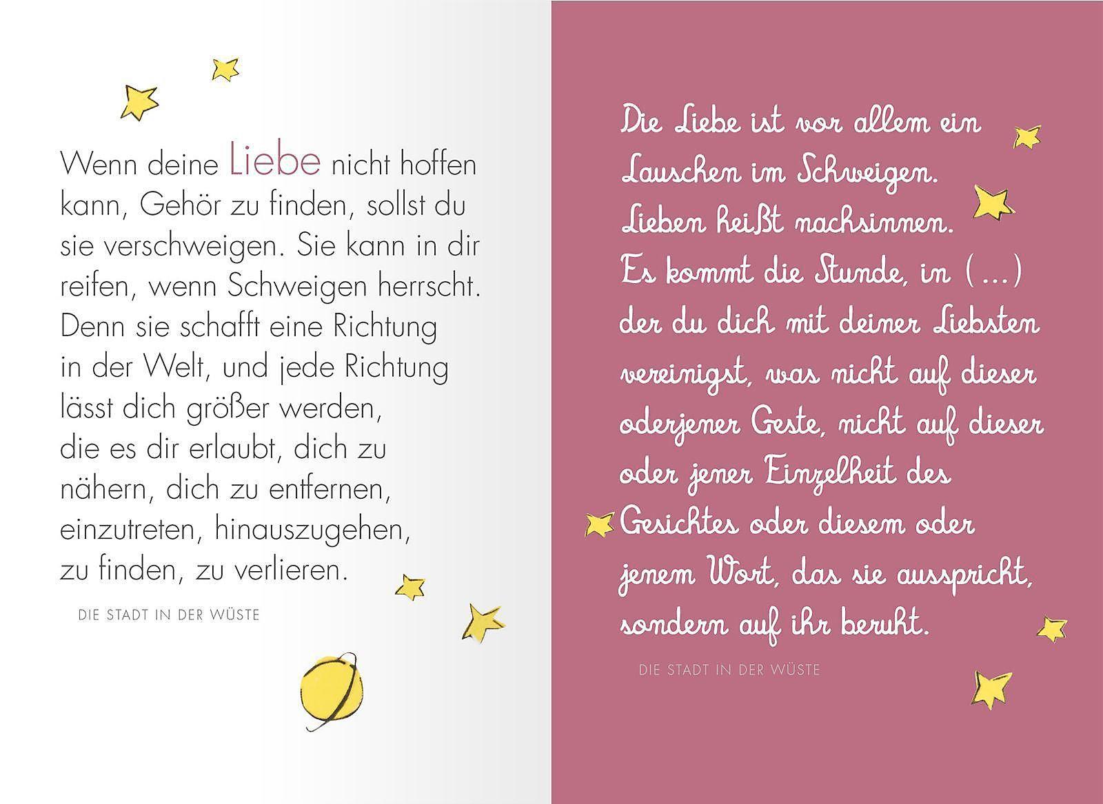 Liebe Buch Von Antoine De Saint Exupéry Bei Weltbild Ch