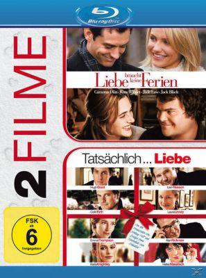 Liebe braucht keine Ferien, Tatsächlich...Liebe - 2 Disc Bluray, Kate Winslet,Jude Law,Jack Black Cameron Diaz