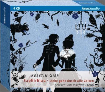 Liebe geht durch alle Zeiten - Saphirblau, 4 Audio-CDs, Kerstin Gier