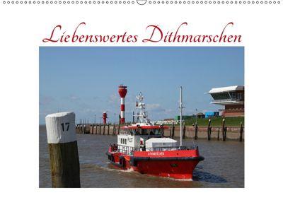 Liebenswertes Dithmarschen (Wandkalender 2019 DIN A2 quer), Eva Ola Feix