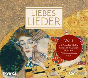Liebeslieder Vol.1, Mields, Hauptmann, Jaroussky, Prégardien, Rial, Calmus